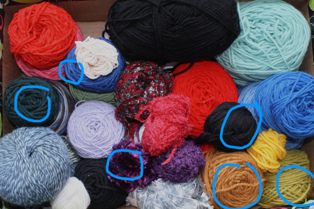 The Yarn Stash Project: Week Eight (Brooches)
