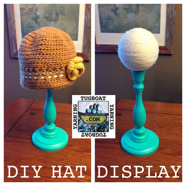 Hat stand diy teacup milliner diy hat stand craft for Hat display ideas for craft shows