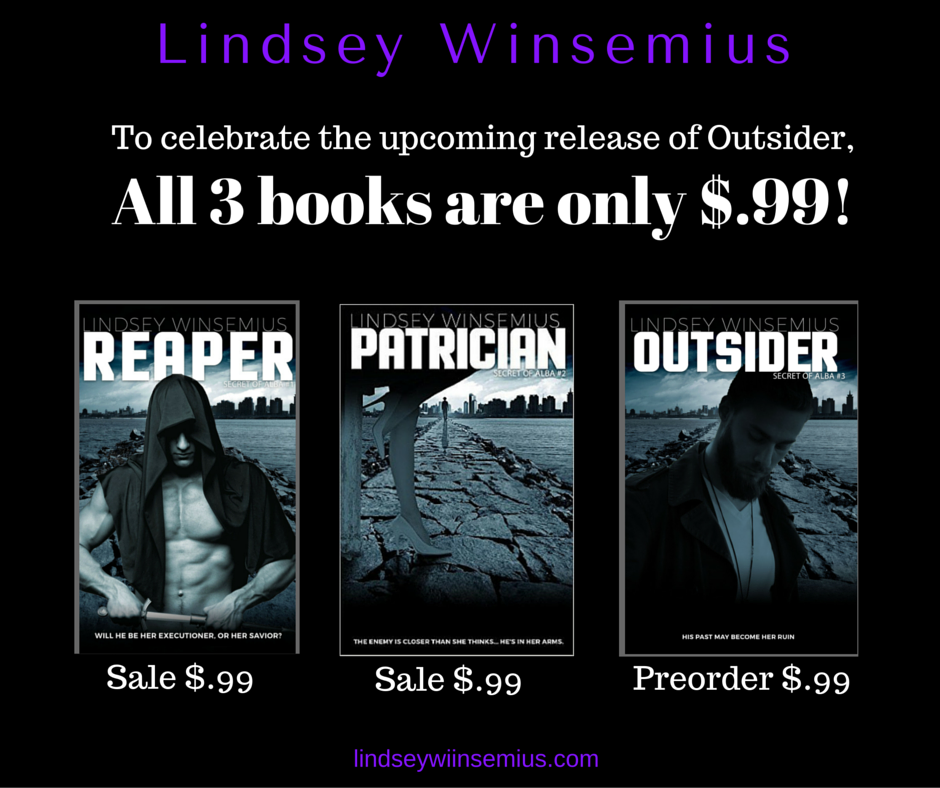 all 3 books are only $.99